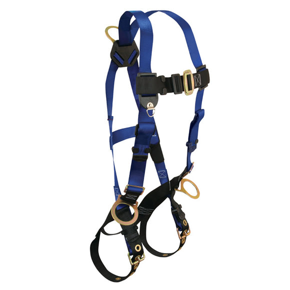 FallTech Contractor Positioning Harness w/ Tongue Buckles