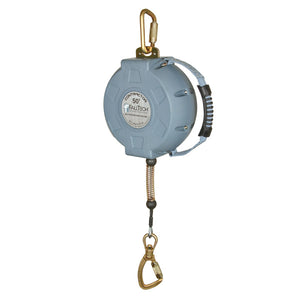 FallTech Contractor Steel Cable Retractable Lifeline - 50 ft.