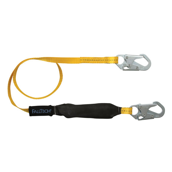 FallTech FT Basic Shock Absorbing Lanyard - 6 ft.