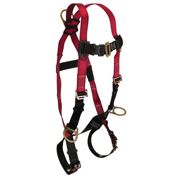 FallTech Tradesman Positioning Harness w/ Tongue Buckles