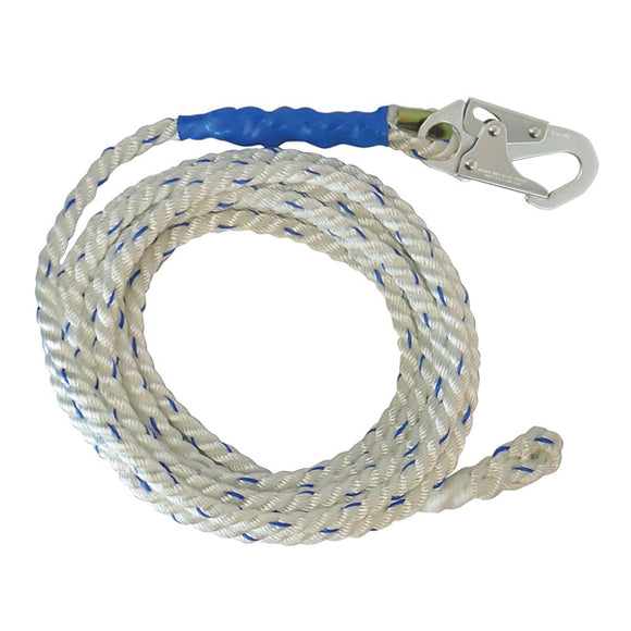 FallTech Vertical Lifeline w/ Braid-end - 50 ft.