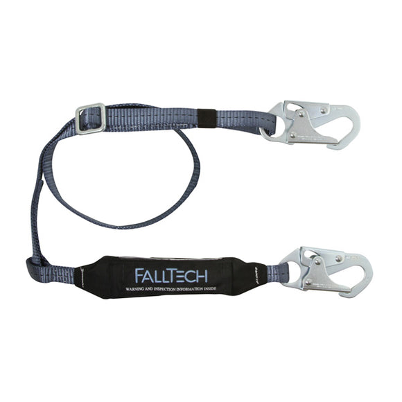 FallTech ViewPack Adjustable Shock Absorbing Lanyard - 6 ft.