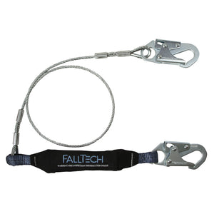 FallTech ViewPack Shock Absorbing Cable Lanyard - 6 ft.