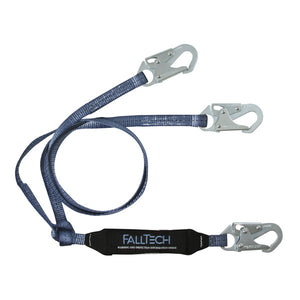 FallTech ViewPack Dual Leg Shock Absorbing Lanyard - 6 ft.