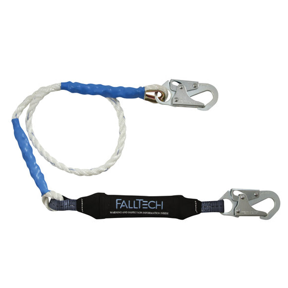 FallTech ViewPack Shock Absorbing Rope Lanyard - 6 ft.