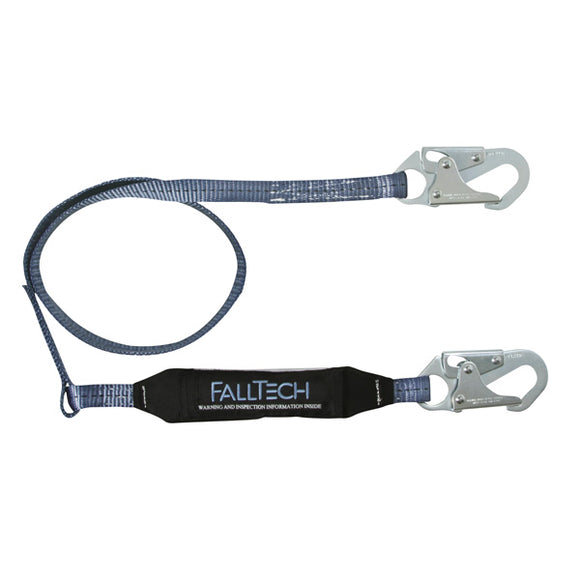 FallTech ViewPack Shock Absorbing Lanyard - 4 ft.