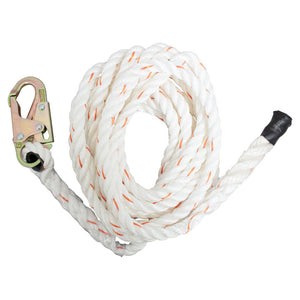 French Creek Vertical Lifeline w/ One Hook End
