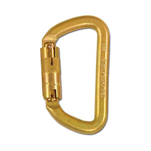 "French Creek Twist Lock Carabiner - 3/4"" Gate Opening"