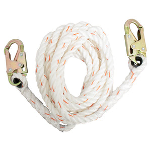 French Creek Vertical Lifeline w/ Hook Ends