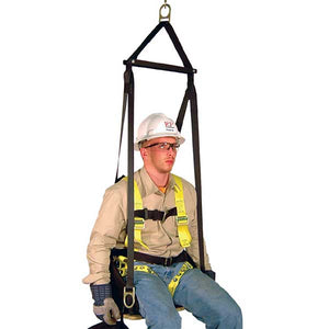 French Creek Deluxe Work Seat w/ Built In Harness
