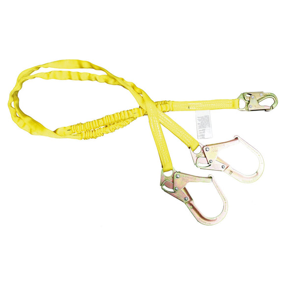 French Creek Internal Shock Dual Leg Lanyard Rebar Hooks - 6 ft.