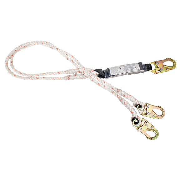 French Creek Rope Dual Leg Lanyard - 6 ft.