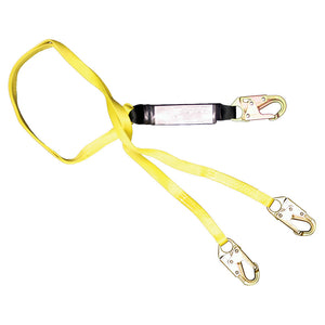French Creek Shock Absorbing Dual Leg Lanyard - 6 ft.