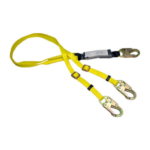 French Creek Adjustable Dual Leg Shock Lanyard
