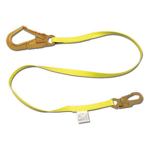 French Creek Non-Shock Lanyard w/ Rebar Hook - 10 ft.