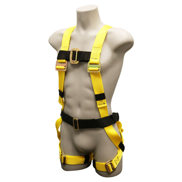 French Creek 500 Series Harness - Pass Thru Buckles