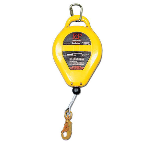 French Creek Retractable Lifeline-Galvanized Steel-50'