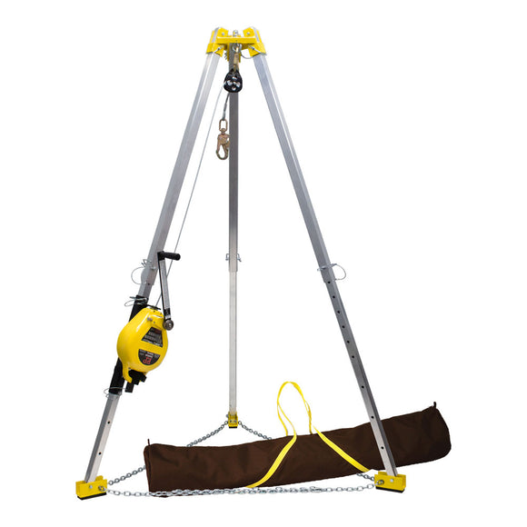 French Creek 9 ft. Tripod Rescue System w/ Winch Bag