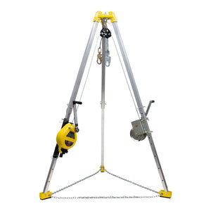French Creek Complete Tripod Rescue System - Stainless Steel