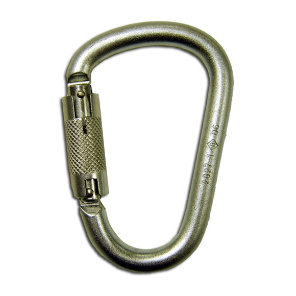 French Creek Stainless Steel Carabiner -1 In. Gate Opening