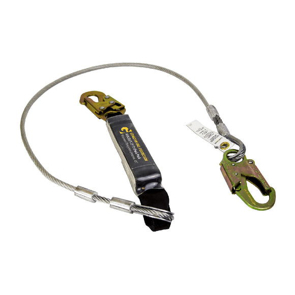 Guardian Cable Shock Lanyard -  6 ft.