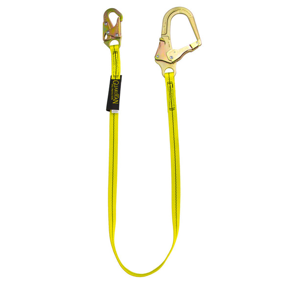 Guardian Non-Shock Absorbing Lanyard Rebar Hooks - 6 ft.