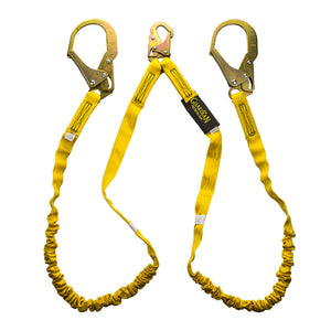 Guardian Internal Dual Leg Shock Lanyard Rebar Hooks - 6 ft.