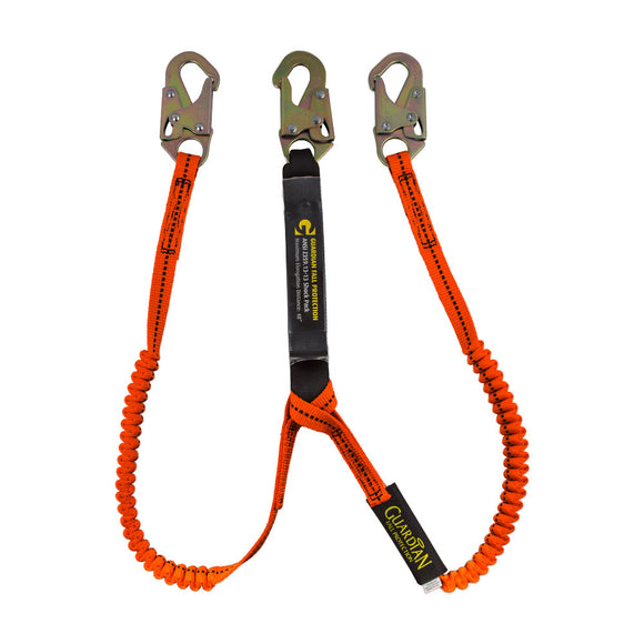 Guardian Tiger Tail Dual Leg Stretch Lanyard