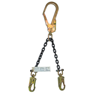 "Guardian Rebar Positioning Lanyard-26"" Grade 80 Chain Assembly"