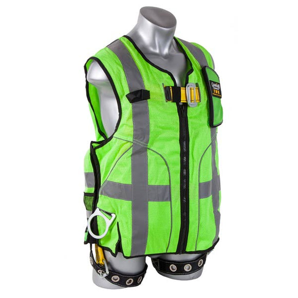 Guardian Green Deluxe Construction Tux Vest Harness