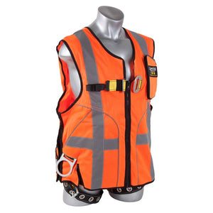 Guardian Orange Deluxe Construction Tux Vest Harness