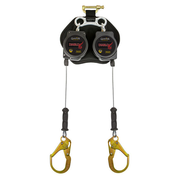 Guardian Double Diablo Leading Edge Retractable w/ Rebar Hooks - 8 ft.