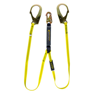 Guardian Dual Leg Shock Absorbing Lanyard Rebar Hooks - 6 ft.