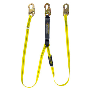 Guardian Dual Leg Shock Absorbing Lanyard - 6 ft.