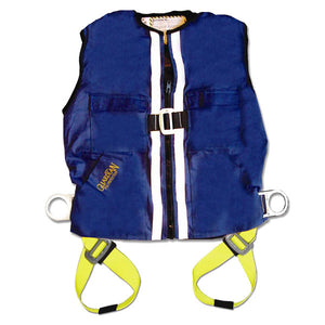 Guardian Blue Duck Construction Vest Harness