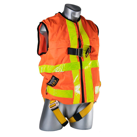 Guardian Hi-Visibility Construction Vest Harness