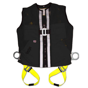 Guardian Black Mesh Construction Vest Harness