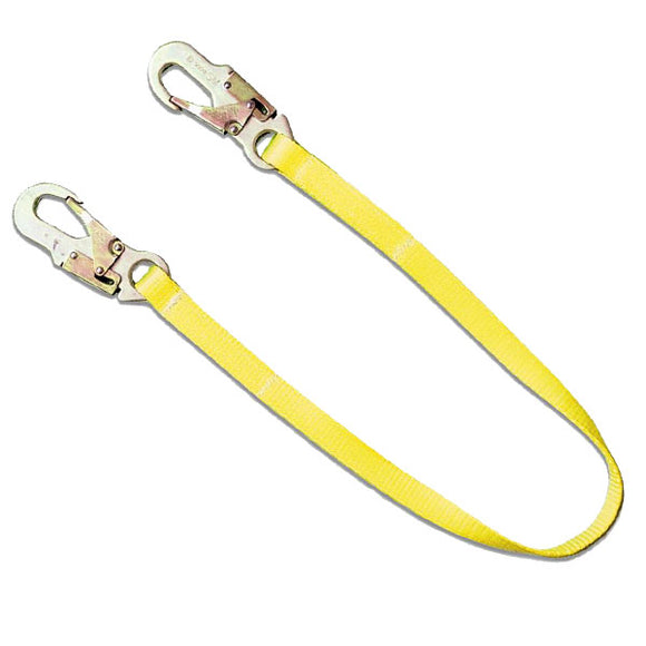 Guardian Non-Shock Absorbing Lanyard-Snap Hooks-3'