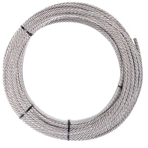 "Guardian 3/8"" Cable Lifeline Wire Rope - By the Foot"