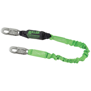 Miller StretchStop Shock Absorbing Lanyard - 6 ft.