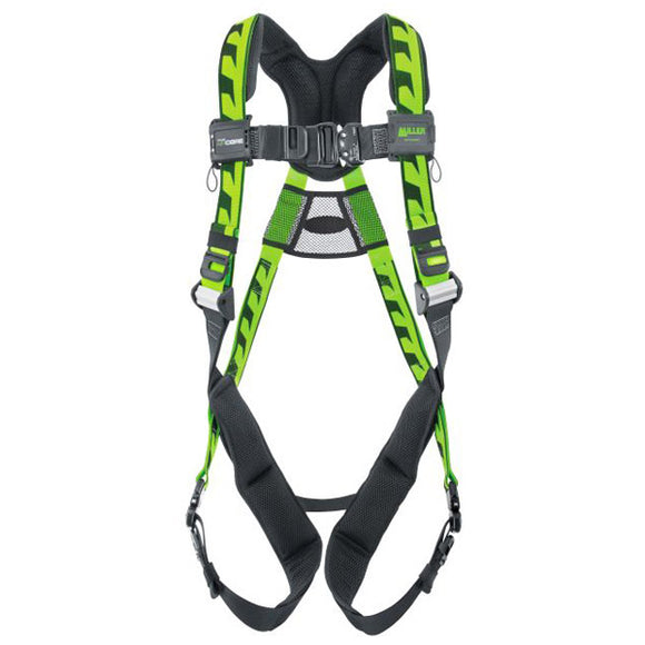 ACA-QC/UGN - Miller AirCore Universal Harness w/ Quick Connect Buckles & Aluminum Hardware