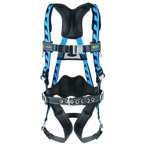 Miller AirCore Construction Harness - Quick Connect Buckles - Blue