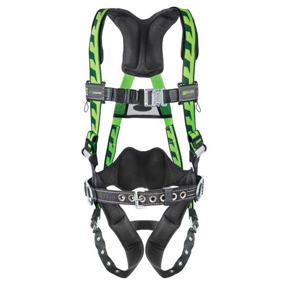 Miller AirCore Construction Harness with Tongue Buckles