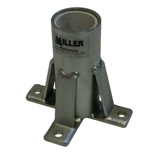 Miller Stainless Steel Floor Mount Sleeve