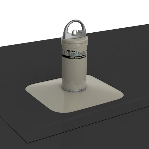 Miller Fusion Membrane Roof Anchor Post 5 5 To 10 5 In