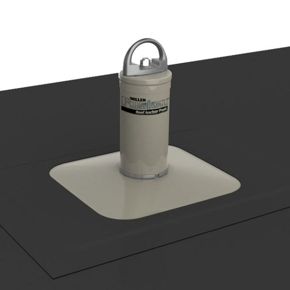 Miller Fusion Membrane Roof Anchor Post - up to 5.5 in.
