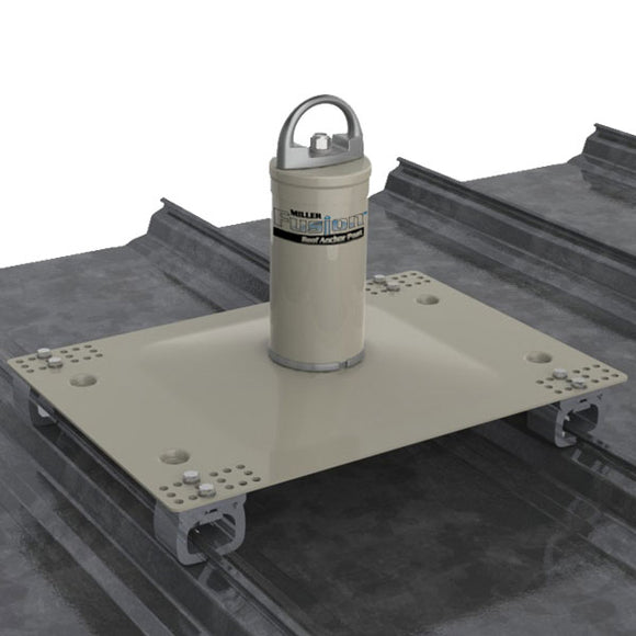 Miller Fusion Standing Seam Roof Anchor Post - up to 17 in.
