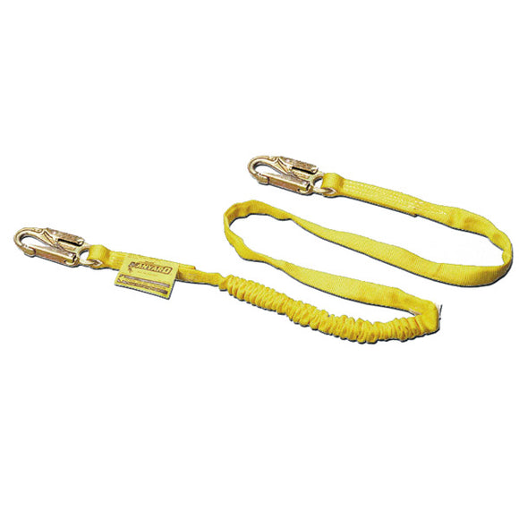Miller Manyard Shock Absorbing Lanyard-Snap Hooks-Single Leg