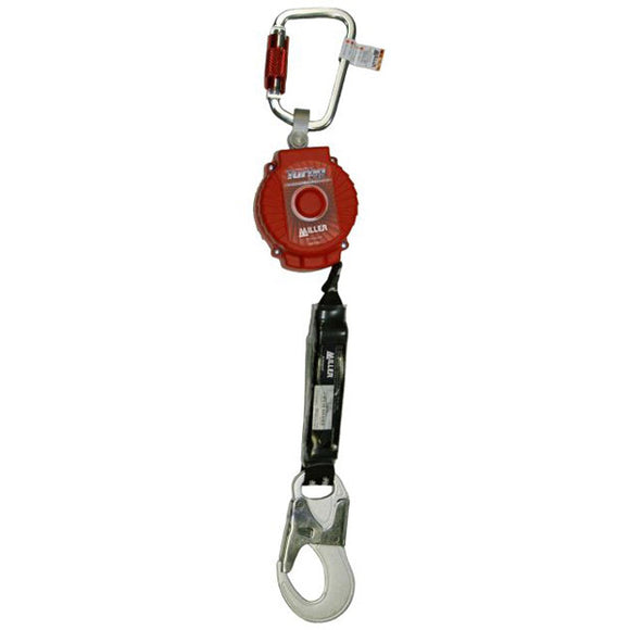 Miller TurboLite Personal Fall Limiter w/ Aluminum Snap Hook - 6 ft.