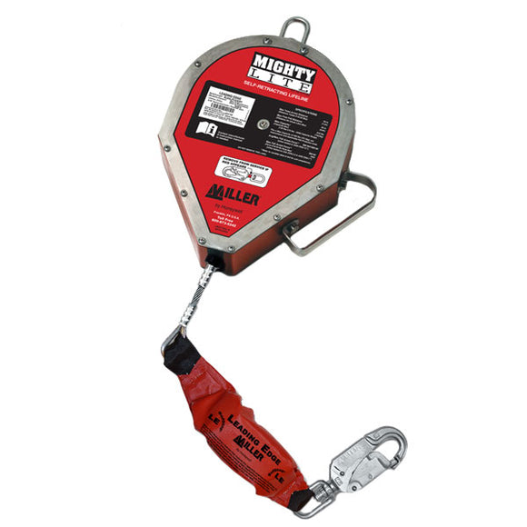 Miller MightyLite Leading Edge Self-Retracting Lifeline - 65 ft.
